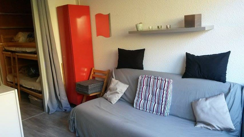 PIAU ENGALY STUDIO PIED DES PISTES - Aragnouet - Apartament