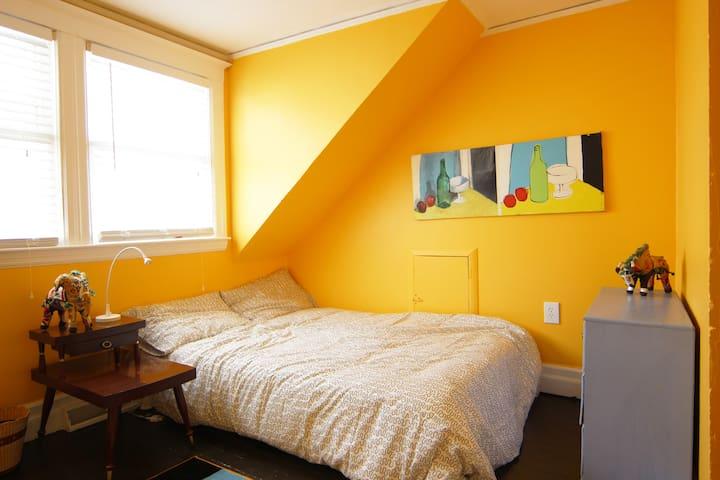 Jefferson Chalmers Cottage - Orange - Detroit - Rumah