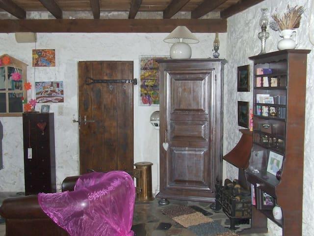 maison au coeur des vignes - Saint-Pierre-d'Aurillac - Hus