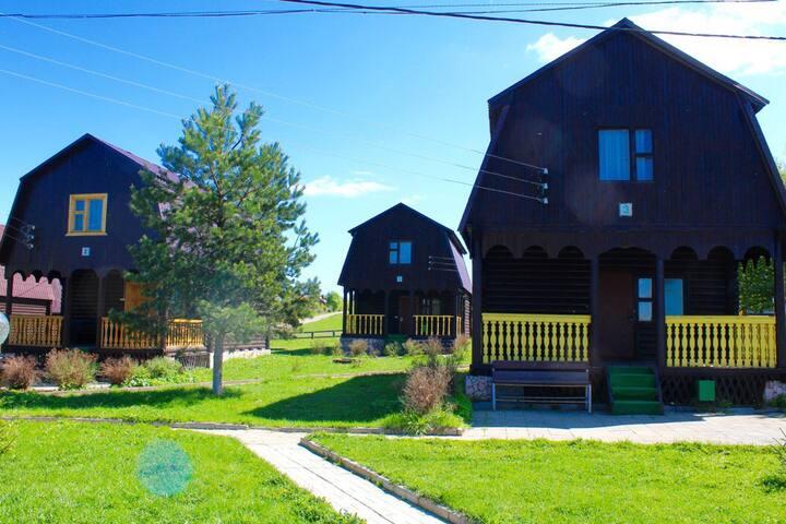 Деревянный дом - Горки (целеевский С/о) - Naturstuga