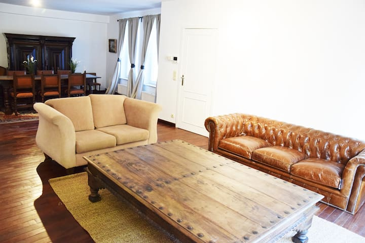 Large and luxurious apartment at the canal - Брюгге - Квартира