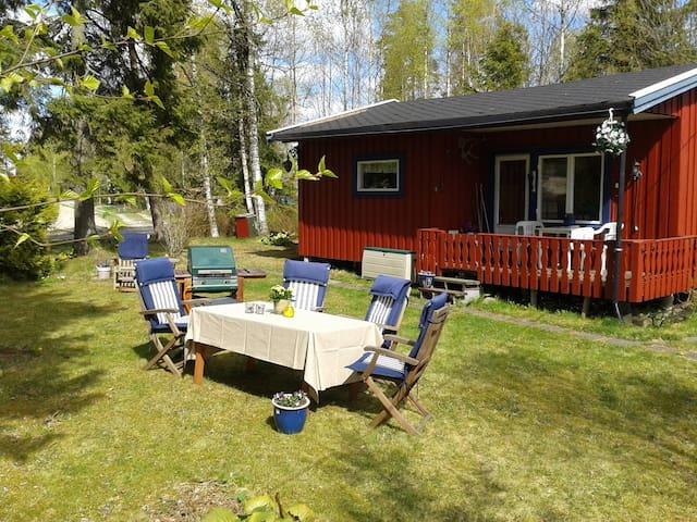 4.pers Norwegian style cabin, free Wifi, near Oslo - Hemnes