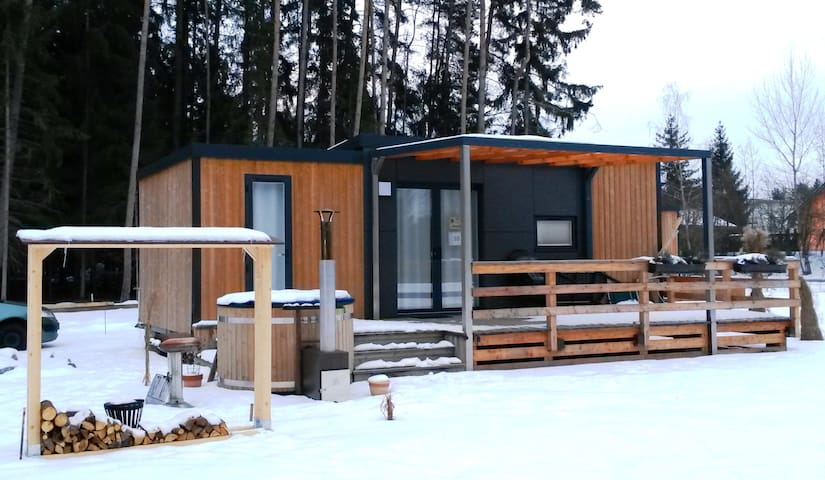 Mobile Home at the Murner Lake - Hot Tub included - Wackersdorf - Appartement