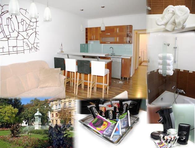 2 bedrooms+livingroom in the centre - Sopron