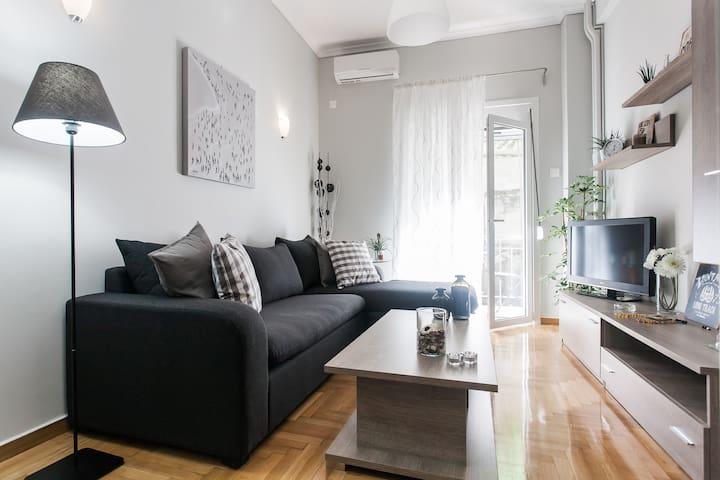 10min to City Center | Luxury house - Athena - Apartemen