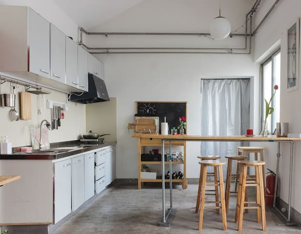 Hutong Penthouse West Wing - Pequim - Apartamento