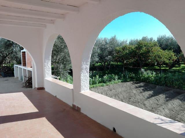 El cortijo de la abuela (entre naranjos) - Benahadux - Huis