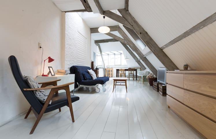 Unique city loft with amazing view! - 安特衛普(Antwerp) - 公寓