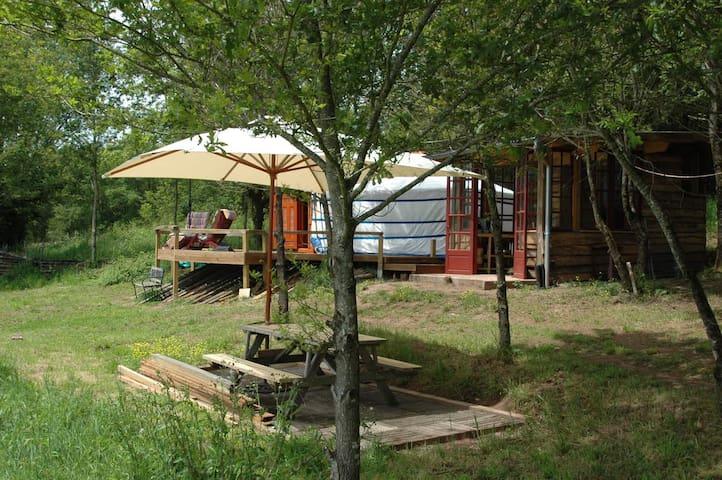 The yurt of Domayne les Rues - Saint-Bonnet-la-Rivière