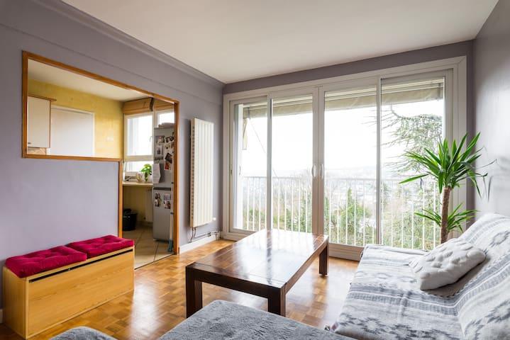 Appartement calme et lumineux! - Fontaines-sur-Saône - Daire