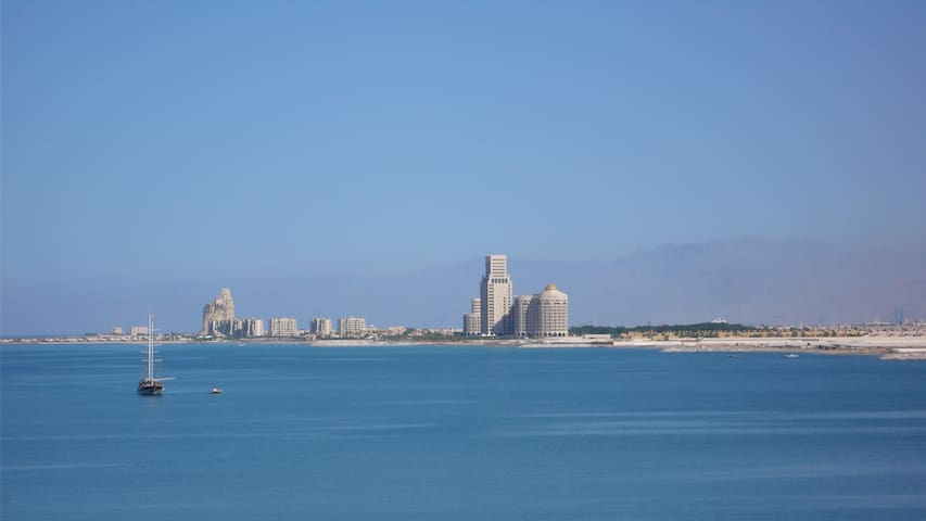 Sea View Beach Apartment (1 bed) - Ras Al-Jaima