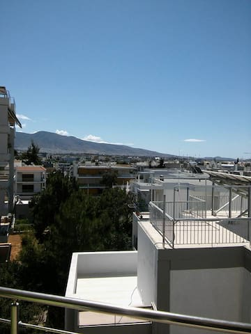 Near to Athens - Close to the beach - long view - Alimos - Appartement