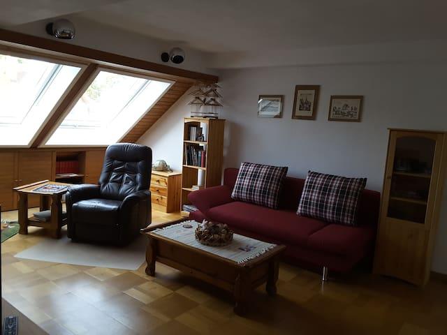 Gemütliche Wohnung ca. 65 qm,10 km Nürnberg+Messe - Wendelstein - Wohnung