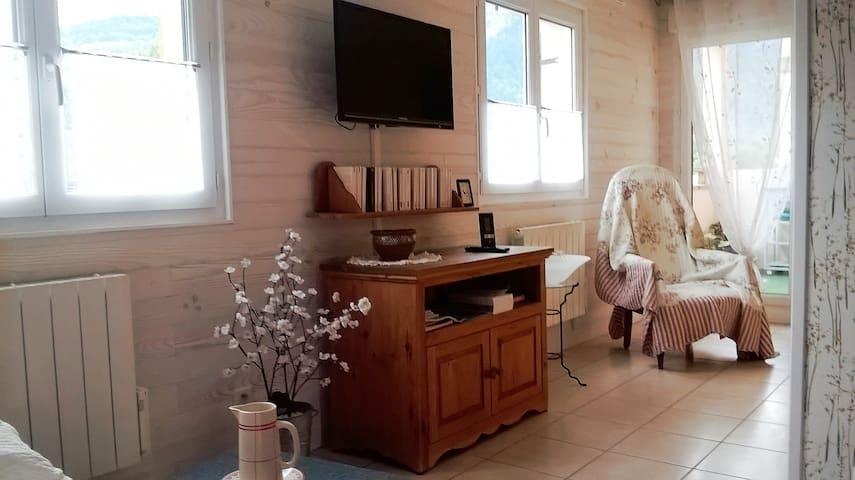 Joli appartement meublé de 38 m² - Scionzier - Apartemen