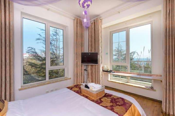 五四广场海边别墅度假屋住一线海景房不一样的感觉 - Qingdao - Vila