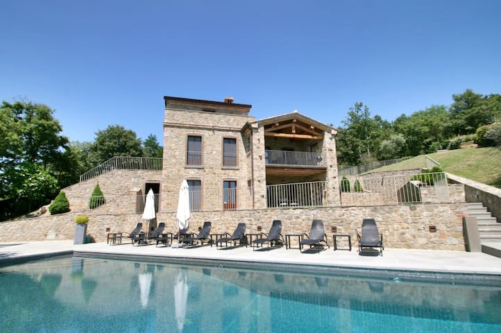 Casa Padrone immense lake views, pool, jacuzzi - Gosparini - Villa
