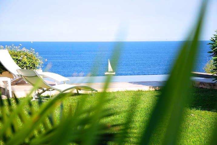 Villa avec piscine & vue mer 180° - Sari-Solenzara - Rumah