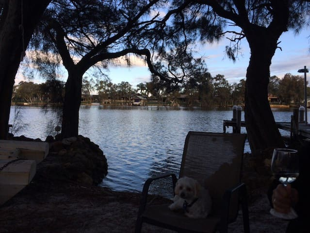 Holiday house on the Murray river - North Yunderup - Talo