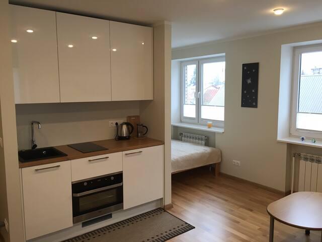 Cozy studio apartment near Old Town - Haapsalu - Leilighet