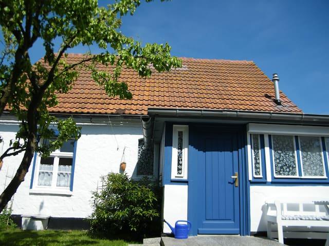 Charmantes Fischerhaus am TraumHaff - Vogelsang-Warsin - Rumah
