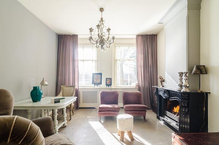 Elegant riverside house nearby Amsterdam - Vreeland - Casa