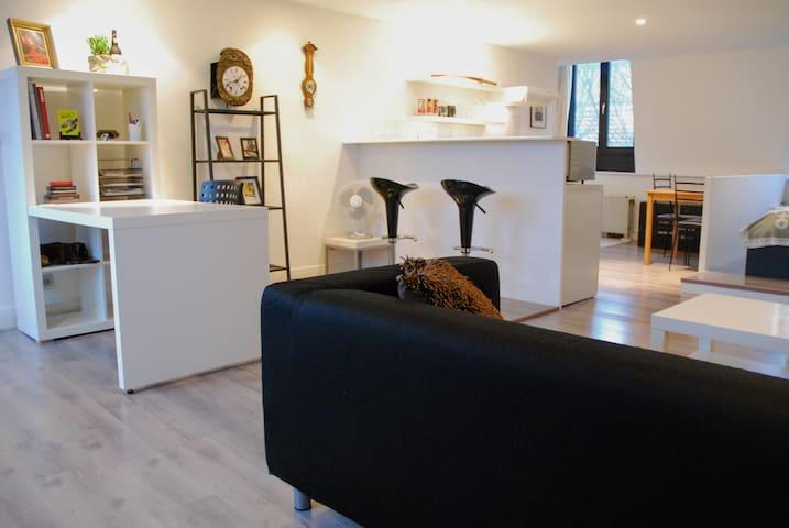 Modern Studio in a great location in Antwerp - Antwerpen