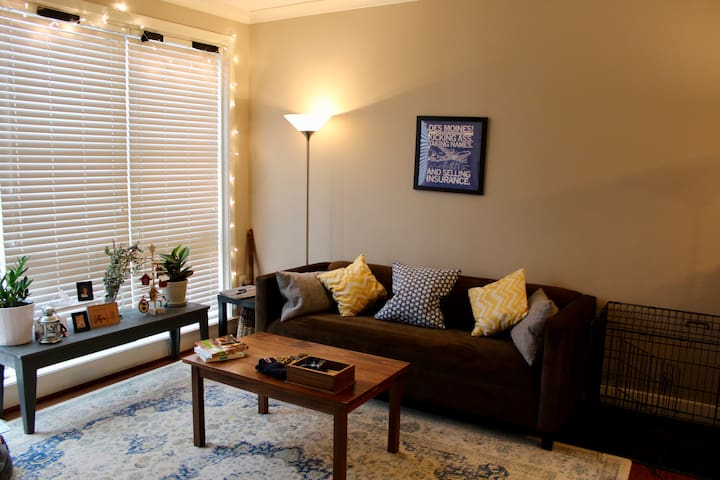 Modern, sunny apartment close to Metro & Old Town - Alexandria - Apartamento