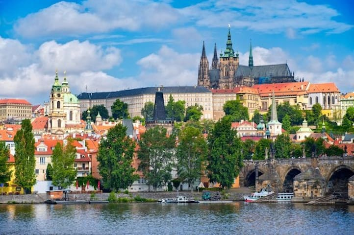 "3 bedrooms APT Prague 1-  ""HISTORIC CITY CENTER"" - Prague 1, Malá Strana - Apartamento"