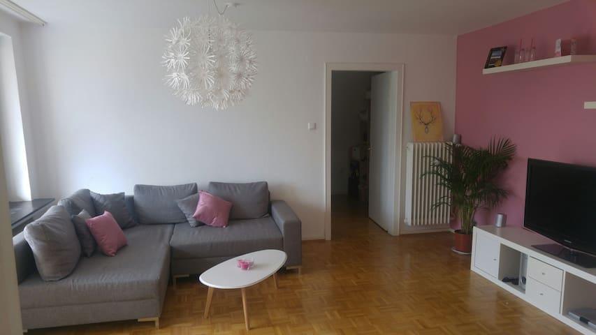Zentrales Zimmer mit Balkon - Hildesheim - Appartement