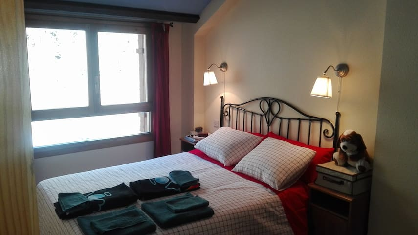 Acogedor apartamento en Canfranc-Estación - Canfranc-Estación - Departamento