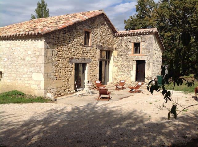 House completly restaured in a large park - Castelnau-Montratier - Hus