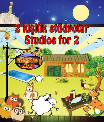 Yeni Adet-Sun Dalyan Organic Studio-Half Board - Dalyan
