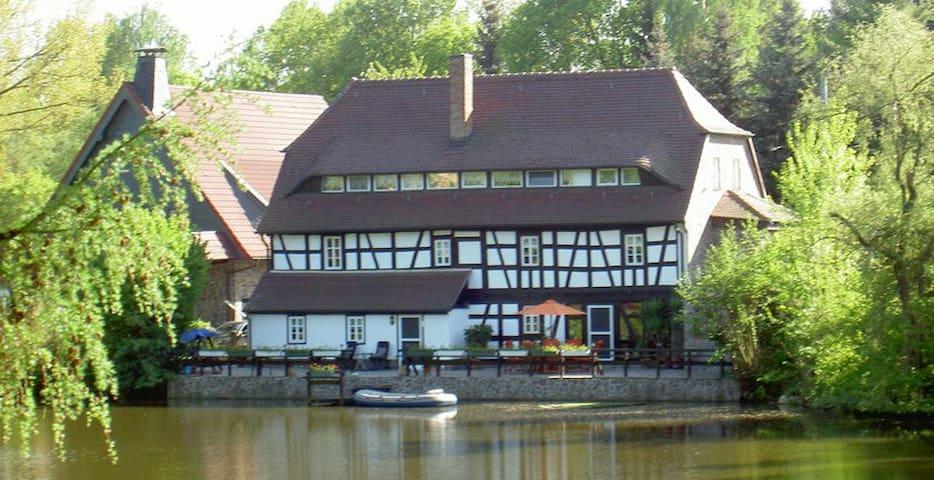 Urlaub in der alten Mühle - Meuselwitz - Appartement