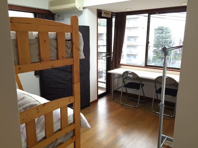 D# Privat Room for a couple @ City Area - Shinjuku-ku
