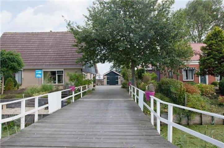 room 4 pers, countrysite close Amsterdam & beach - Heerhugowaard - Casa