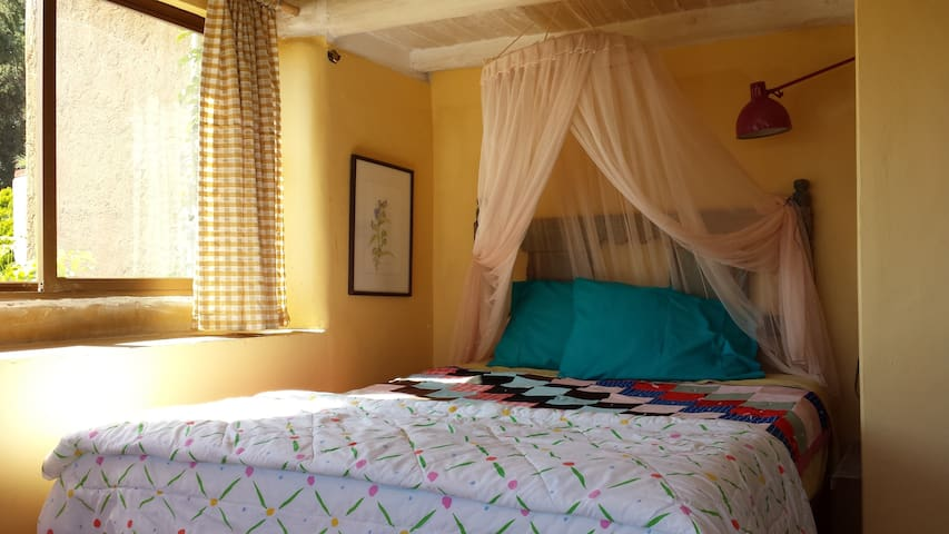 The Panoramic Room at Holy Molé BnB - Erongarícuaro - Bed & Breakfast