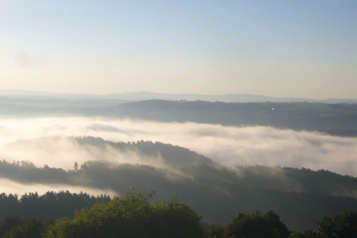 Gîte 6-8 p. du Mont de la Madeleine - Familial - Beauzac - Doğa içinde pansiyon