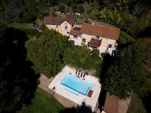 Dordogne House, heated pool,6 acres - Saint-André-d'Allas - 獨棟