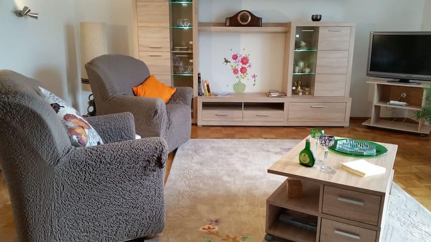 Freundliche, helle Ferienwohnung - Wildflecken - Apartment