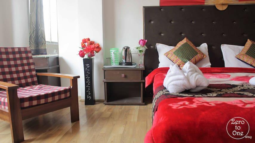 Cozy 2BDR dlx away from busy city - Gangtok