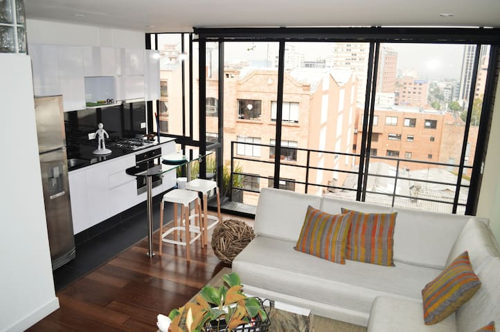 Beautiful apartment in a great zone - Bogotá - Appartement