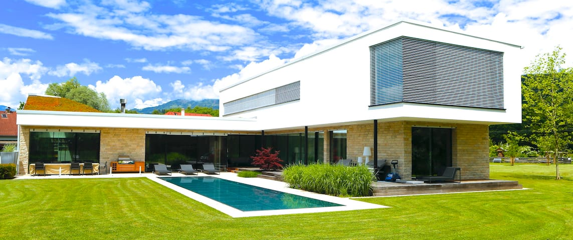 Deluxe vacation house with Pool - Olsach - Villa