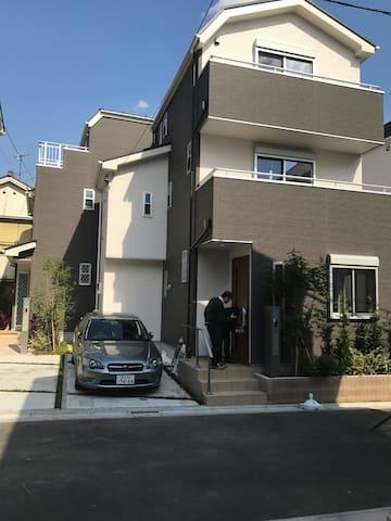 东京崭新的一户建,幽静,交通便利 - Edogawa-ku - Vila