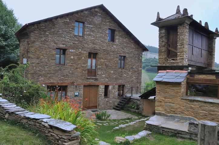 Casa rural O Cabazo da Curuxa - Santo Adrao de Lourenzá - Bed & Breakfast