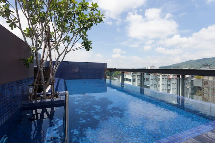 Appartement neuf @ Trendy Nimman avec piscine ! - Su Thep - Appartement