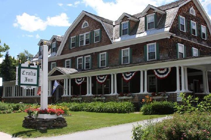 The Crafts Inn, Wilmington, VT 1 bedroom - Wilmington - Apartemen