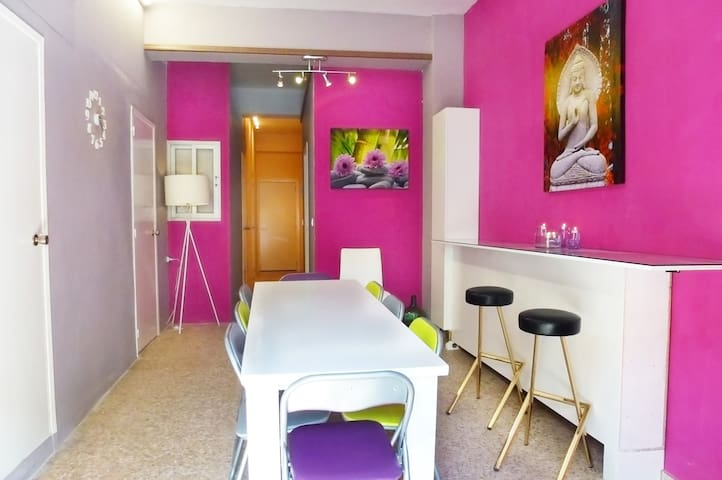 Lovely & colorful house with WIFI - Masalavés - Apartament