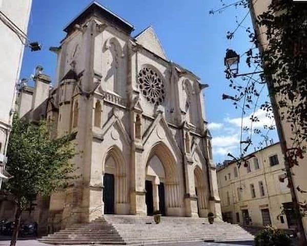 Au coeur du quartier St Roch - Montpellier
