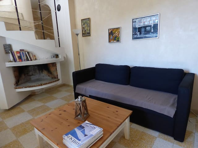 Nice town house with terrace and view - Claviers - Şehir evi