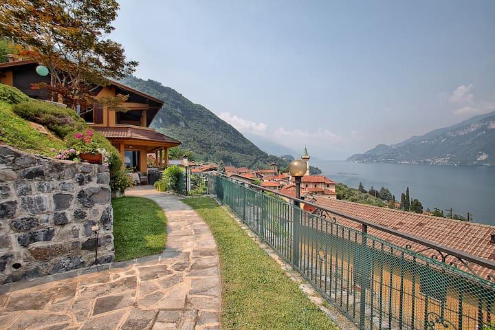 Casa Greta: Bellagio, como lake, and Grigne view - Limonta - Ev